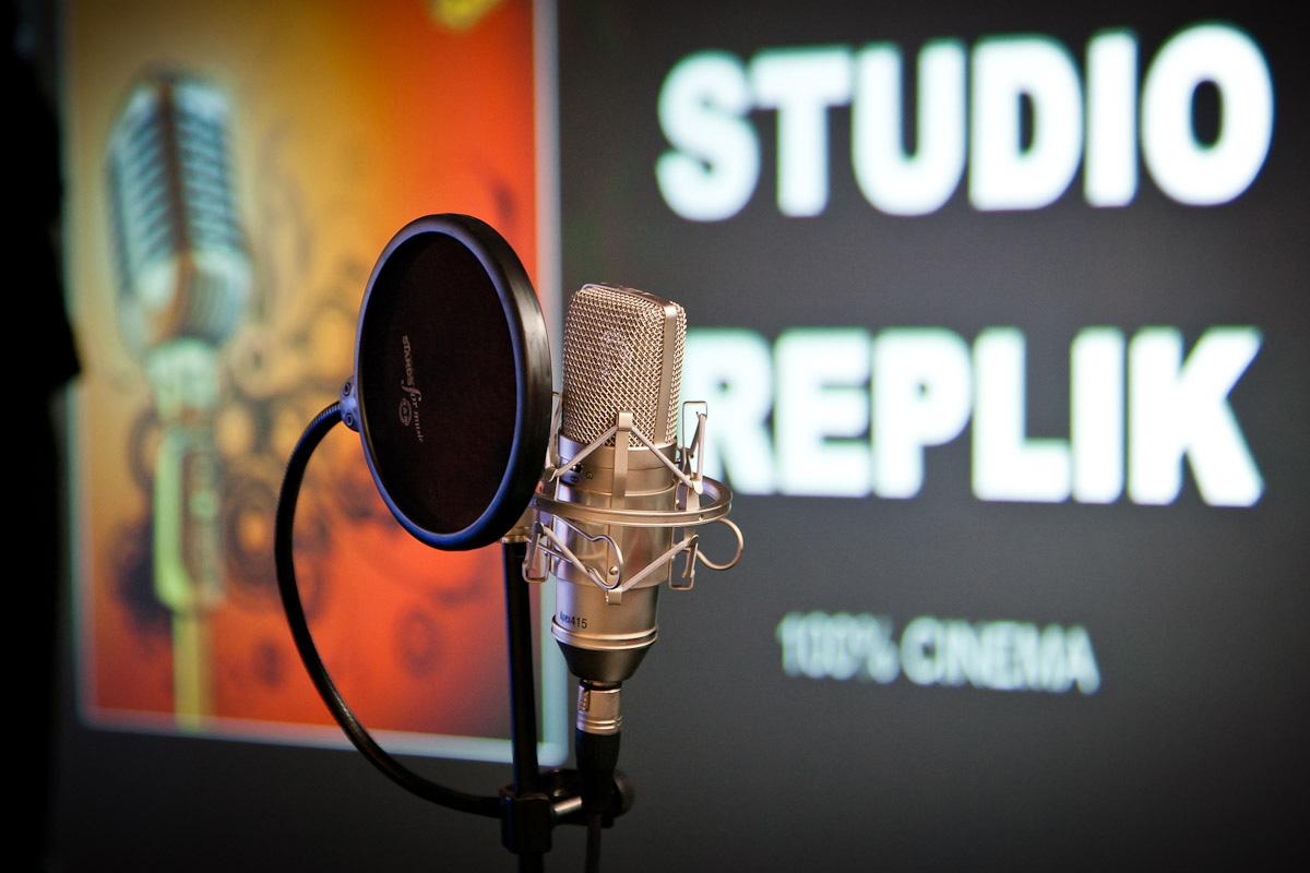 Micro de studio pour prise de son