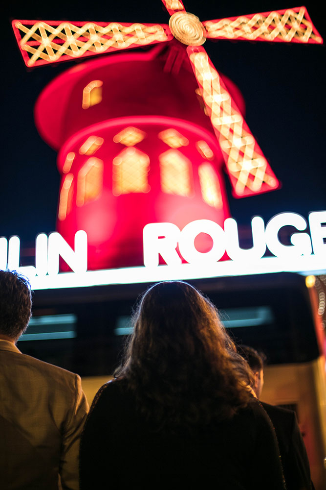 Paris univers moulin rouge