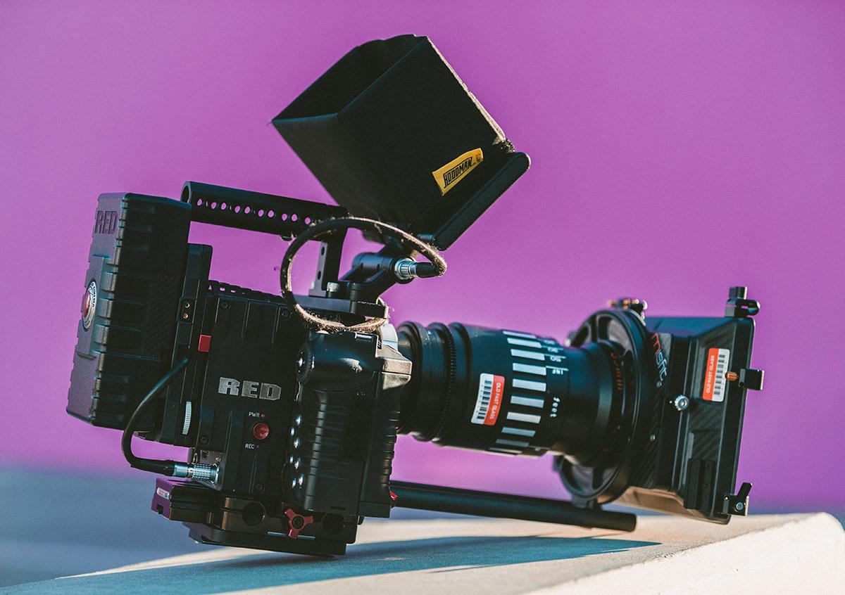 Caméra qui peut être présente lors de votre événement avec l'animation after moovie